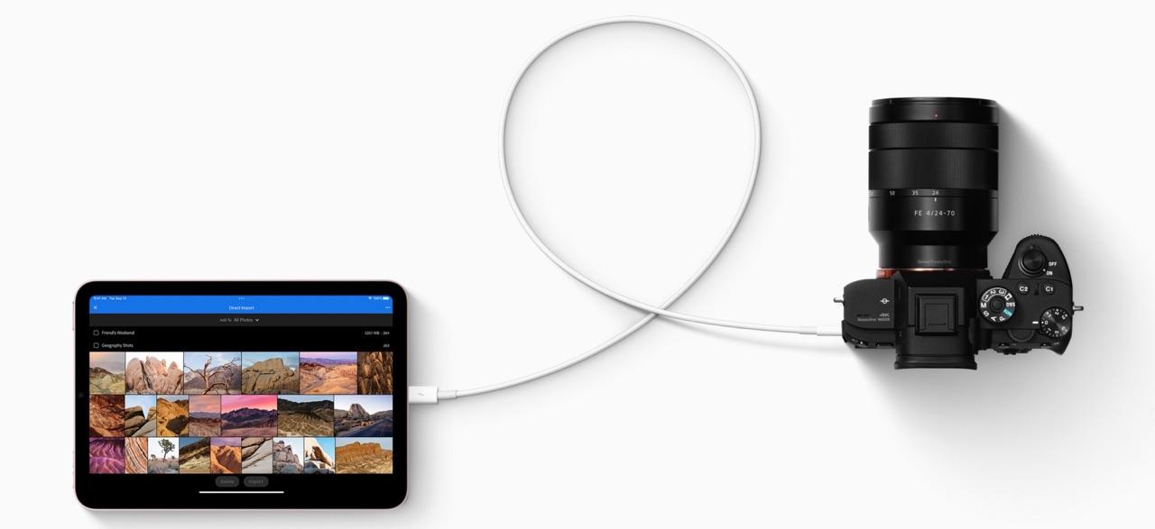 iPad mini 6 met camera