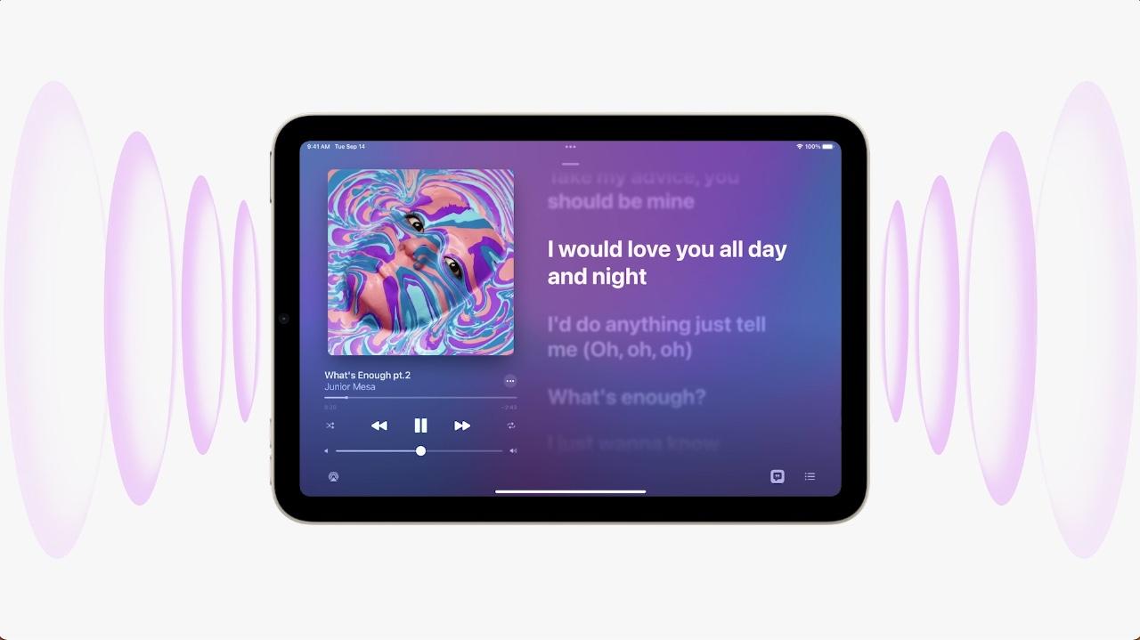 iPad mini 6 stereogeluid