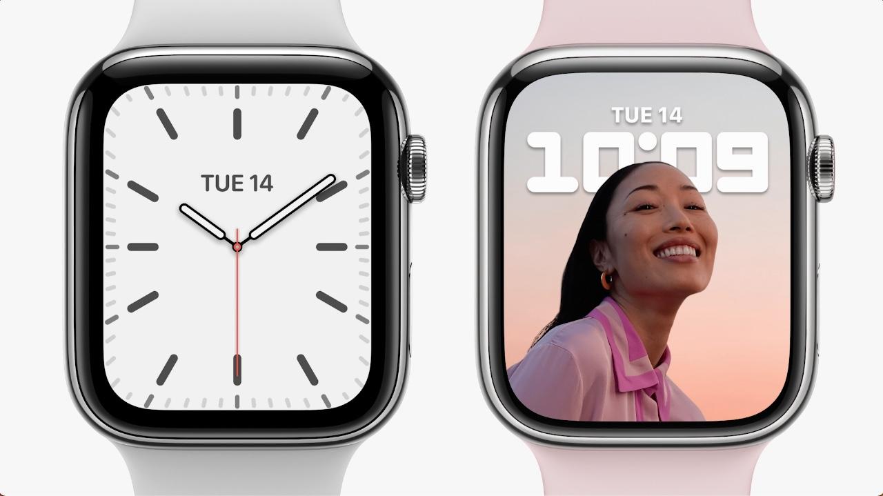 Apple Watch Series 7 scherm vs vorige generaties.