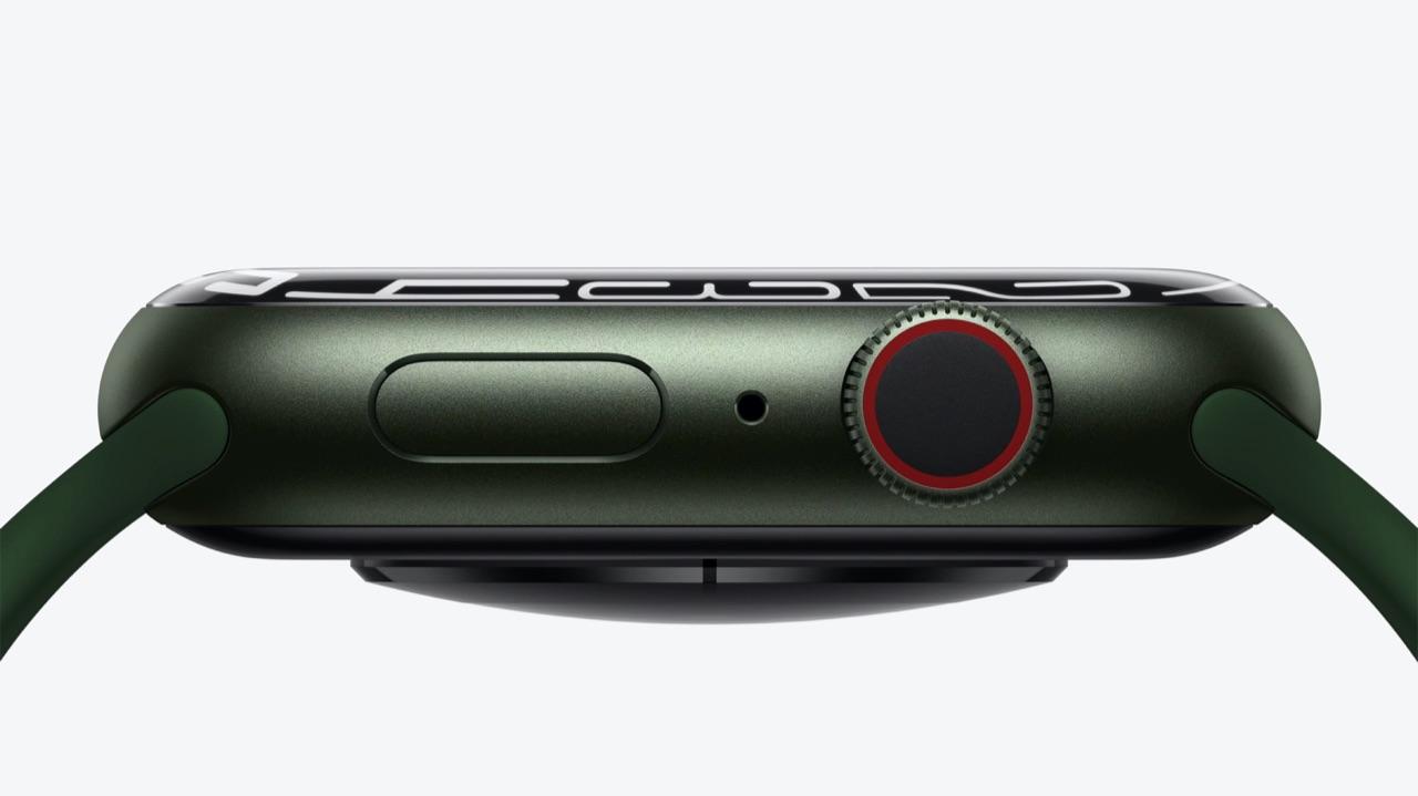 Apple Watch Series 7 zijkant