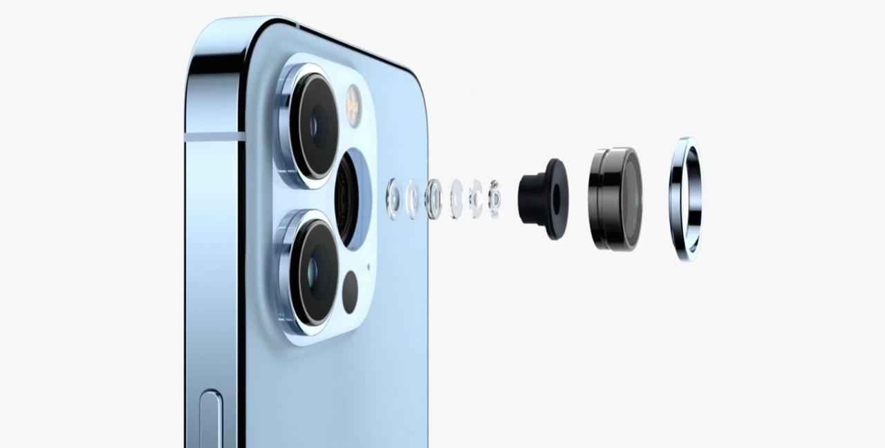 iPhone 13 Pro lenzen