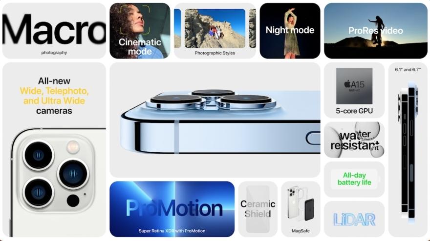 iPhone 13 Pro samenvatting