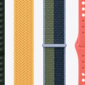 Dit zijn Apple's najaarskleuren 2021 voor Apple Watch-bandjes