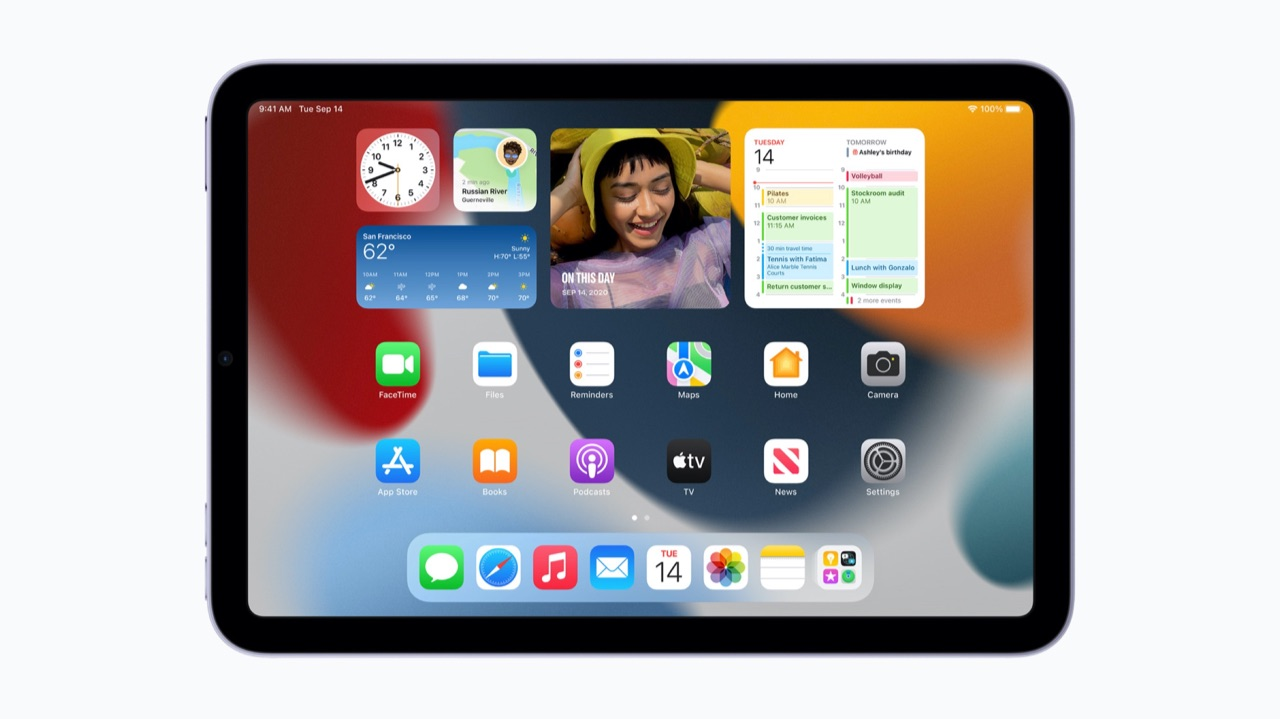 iPad mini 6 scherm