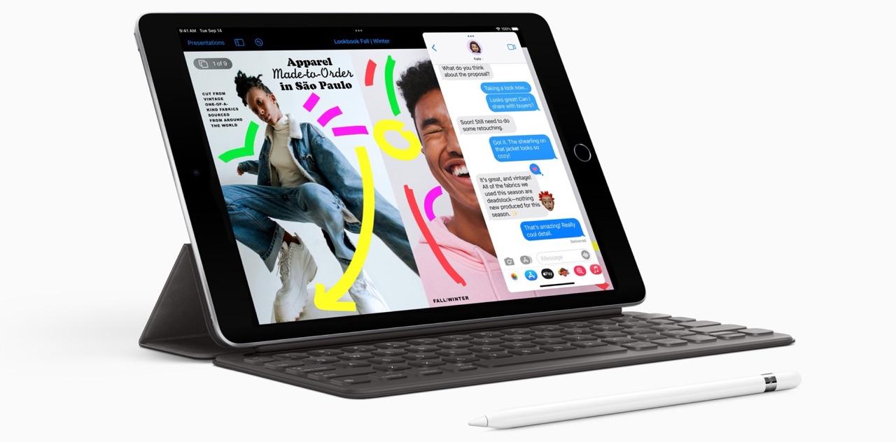 iPad 2021 met Smart Keyboard