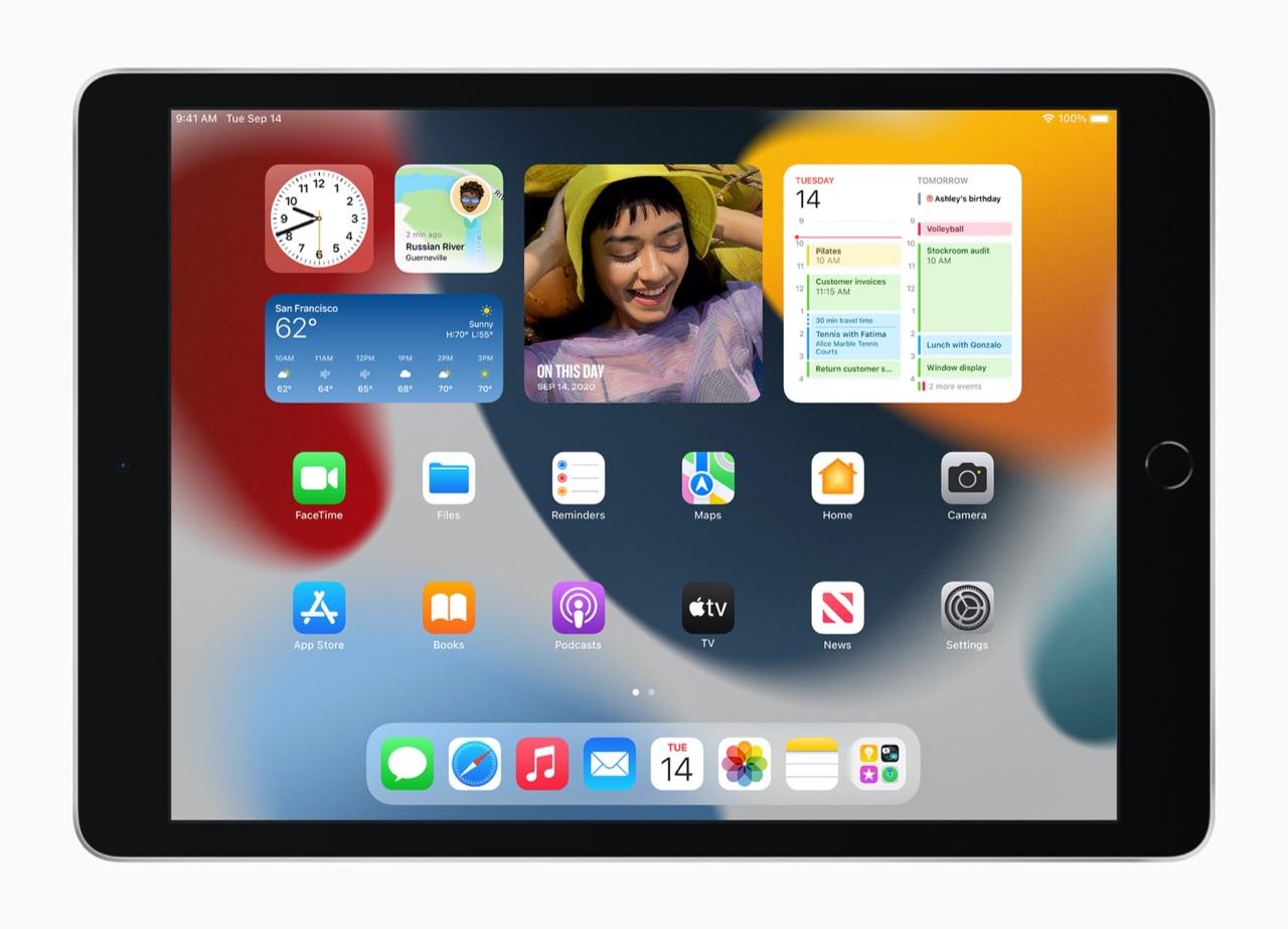 iPad 2021 scherm