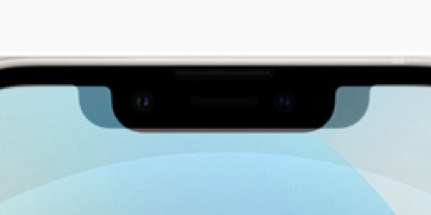 iPhone 13 notch vergelijking.