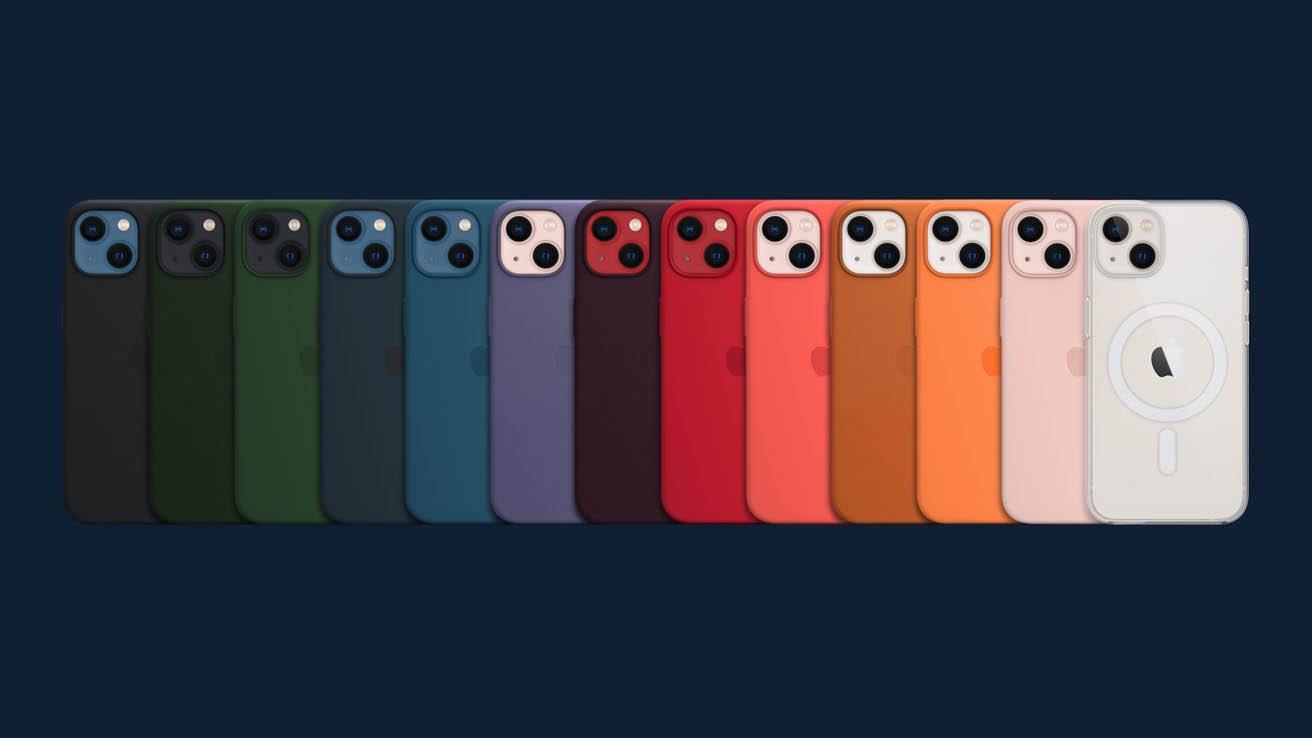iPhone 13 hoesjes kleuren