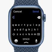 Apple Watch Series 7 heeft een volledig toetsenbord, maar werkt niet in het Nederlands