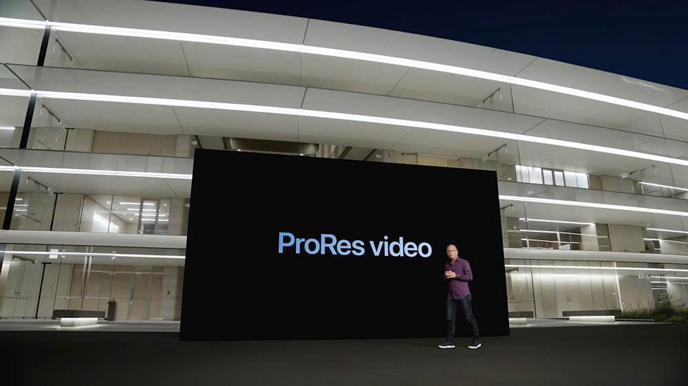 Apple ProRes video aankondiging