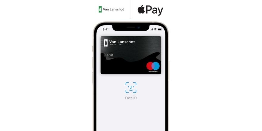 Van Lanschot met Apple Pay.