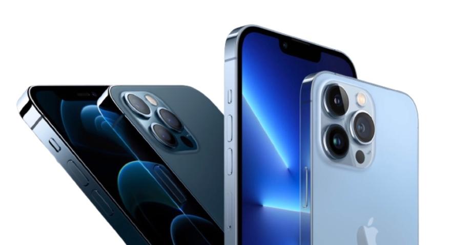 iPhone 13 Pro vs iPHone 12 Pro.