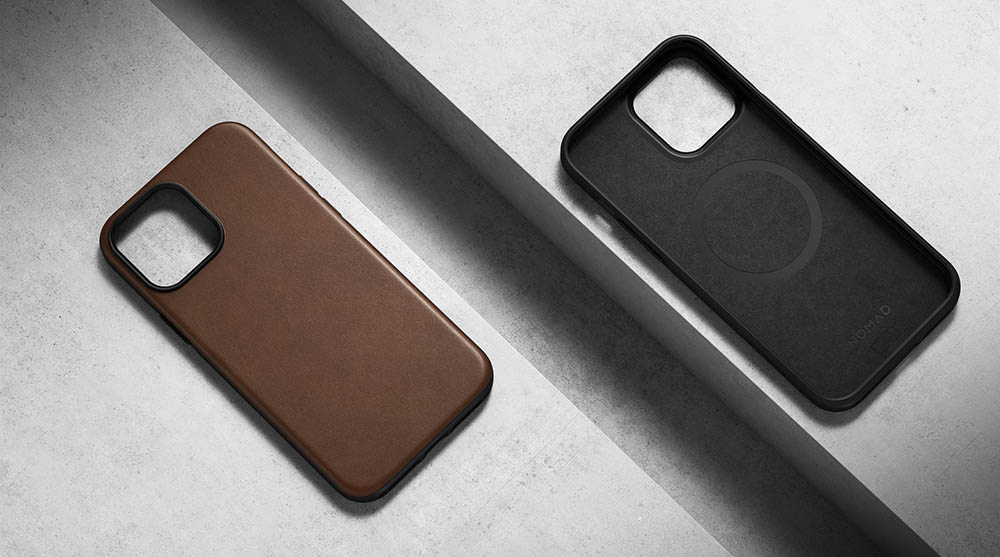 Nomad Leather Case voor iPhone 13