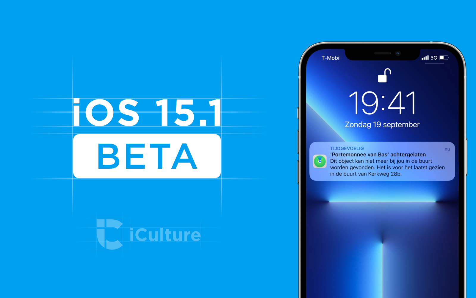 iOS 15.1 beta.