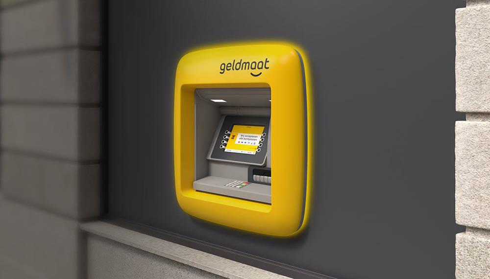 Geldmaat-pinautomaat