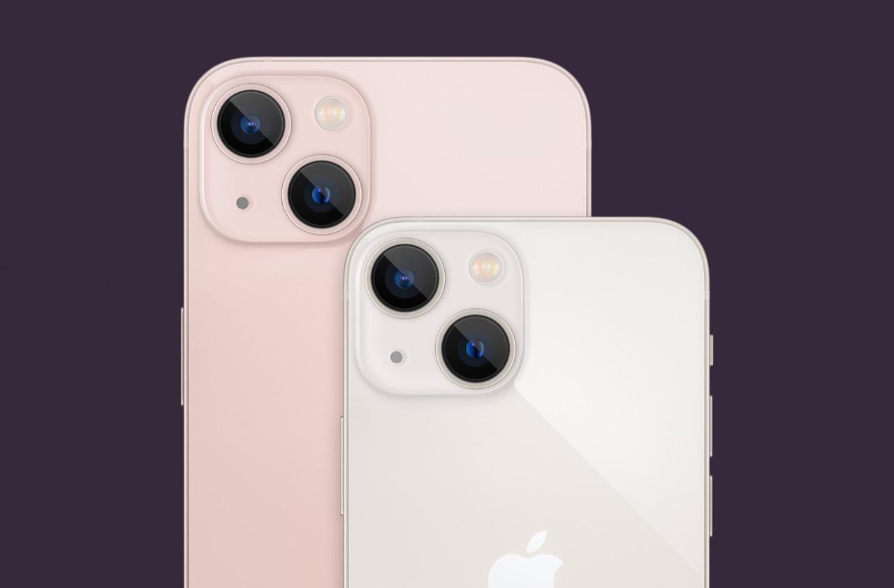 iPhone 13 vs iPhone 13 mini.