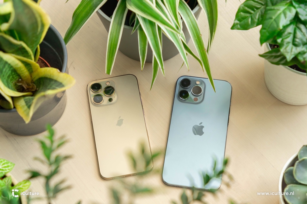 iPhone 13 Pro en iPhone 13 Pro