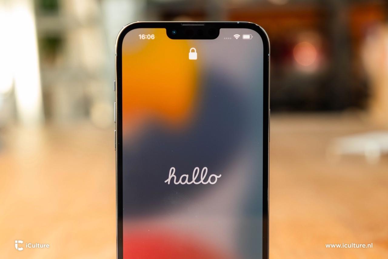 iPhone 13 Pro notch
