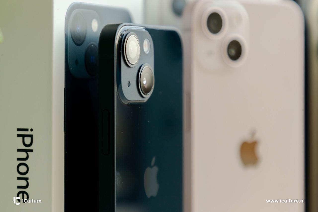 iPhone 13 mini camera.