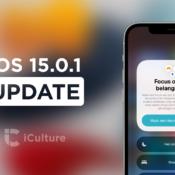 iOS 15.0.1 uitgebracht: lost bug met Apple Watch-ontgrendeling op