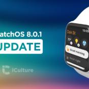 watchOS 8.0.1 update.