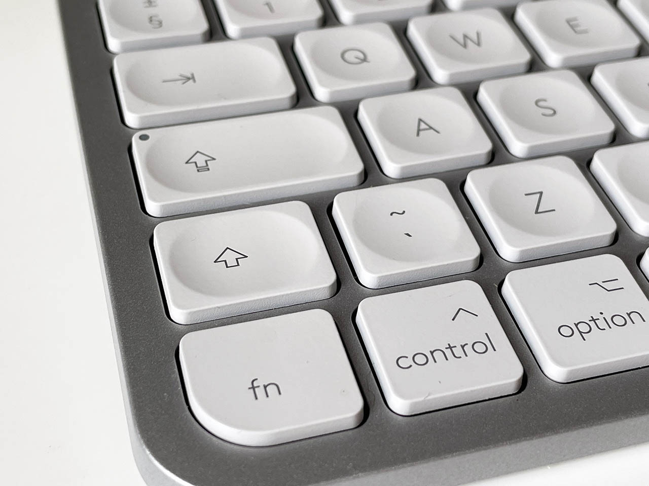 Logitech MX Keys Mini linksonder