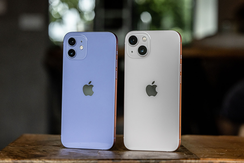 iPhone 13 camera vs iPhone 12.