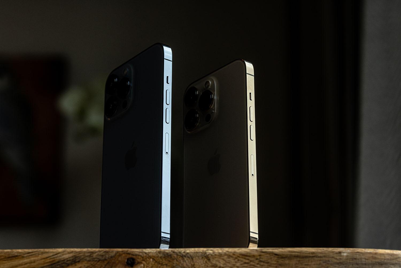 iPhone 13 Pro en iPhone 13 Pro Max zijkant knoppen