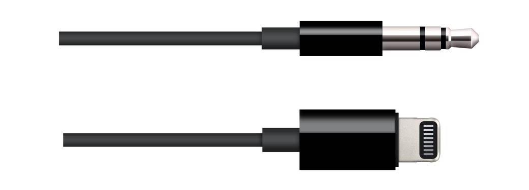 Lightning-audiojack bidirectionele kabel