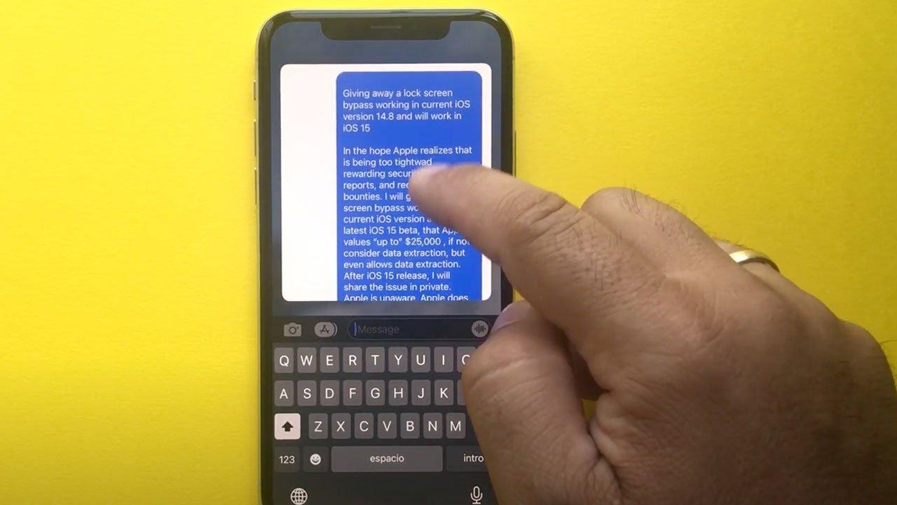 Bug iOS 15 ontgrendelscherm