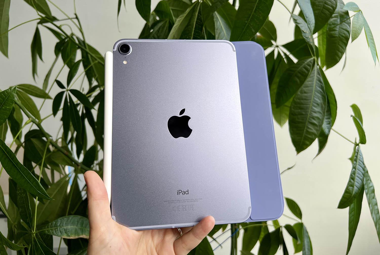 iPad mini 6 review: in de hand met hoes