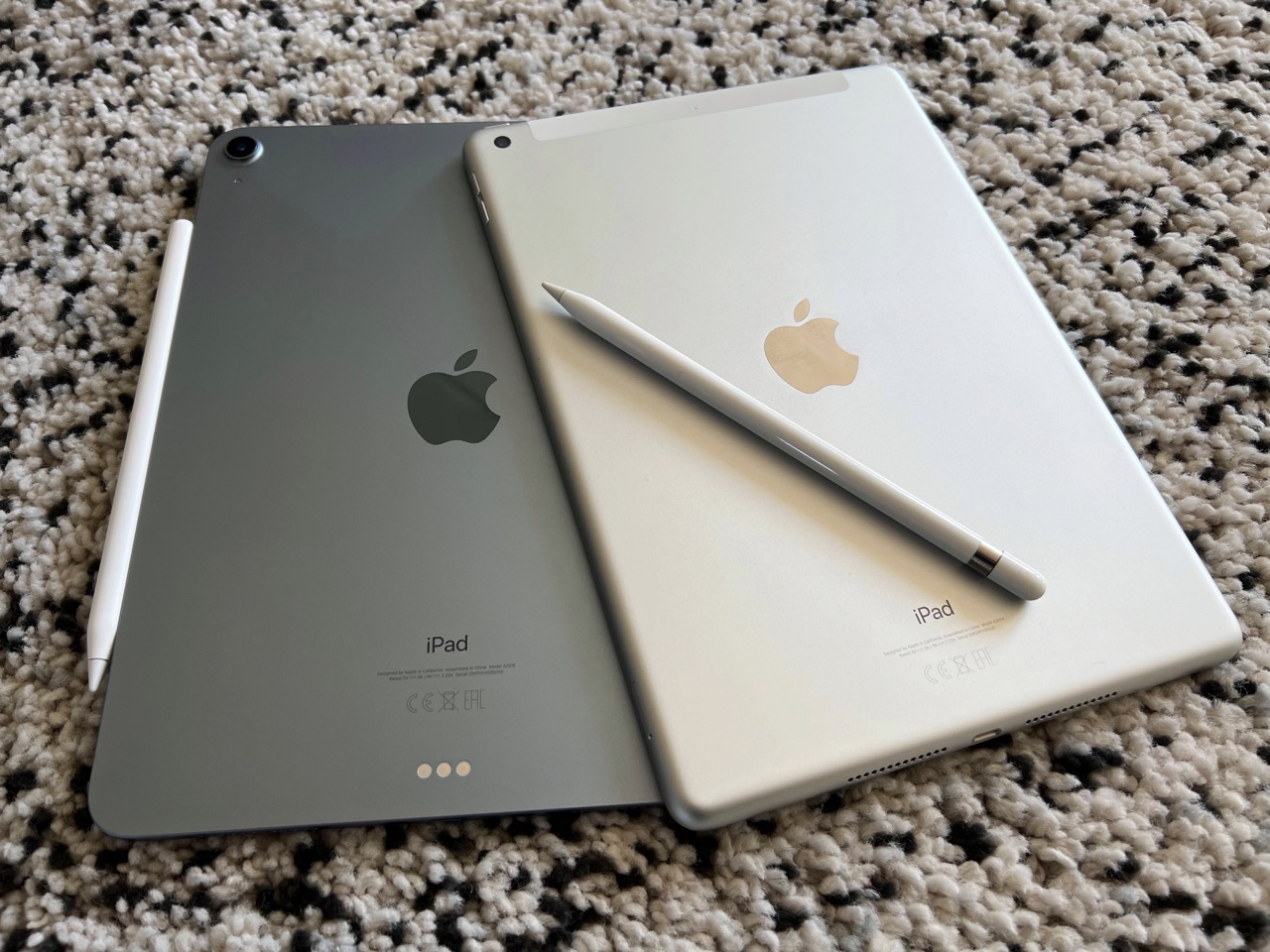 iPad 2021 vs iPad Air 2020.