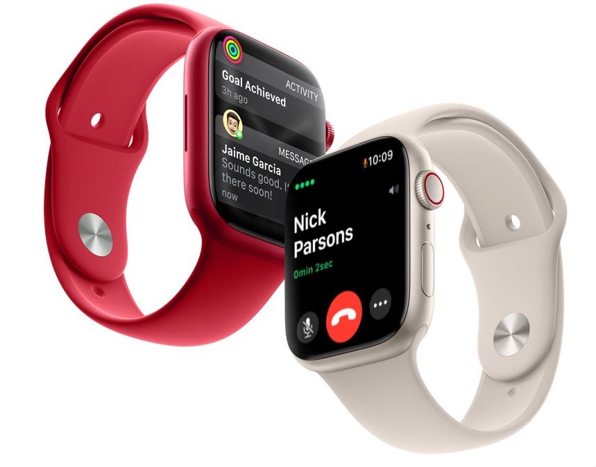 Apple Watch Series 7 Cellular met bellen.