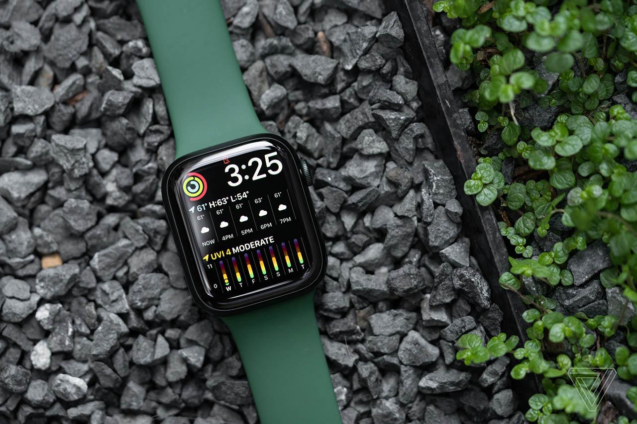 Apple Watch Series 7 handson